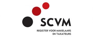 Logo SCVM Register Makelaars Taxateurs